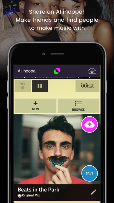 Figure - Make Music & Beats, Collaborate and Remix on Allihoopa Screenshots