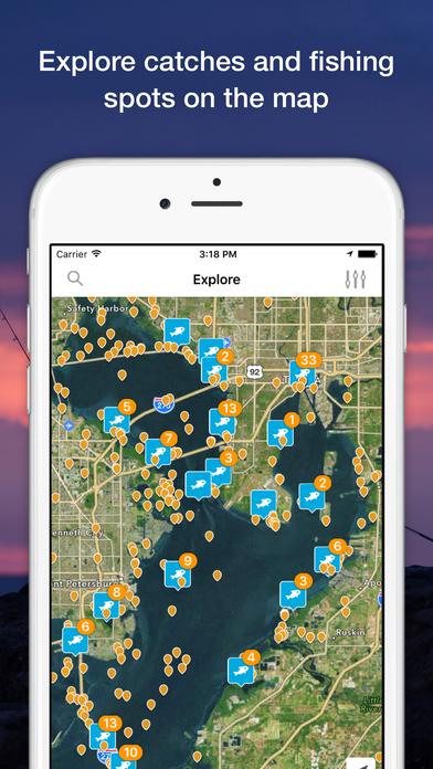 Fishbrain social fishing forecast app on the app store for Fish brain app