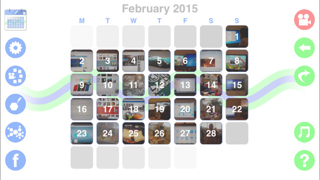 Video 365 - Your Everyday Video Calendar and Journal Screenshots