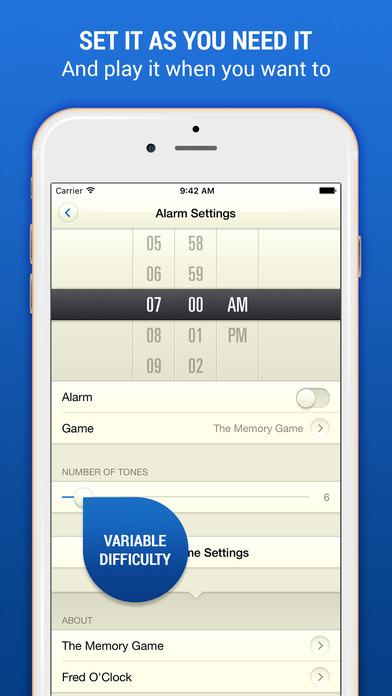 Fred O'Clock: Alarm Clock with Retro Games Screenshots