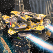3D Space Ship Simulator - Real Flying Ships Parking Simulation Driving & Escape Games