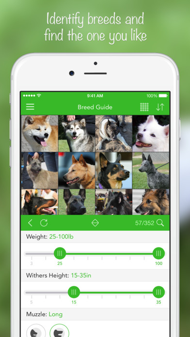 Dogs by NATURE MOBILE - Breed Guide and Quiz Game iPhone Screenshot 2