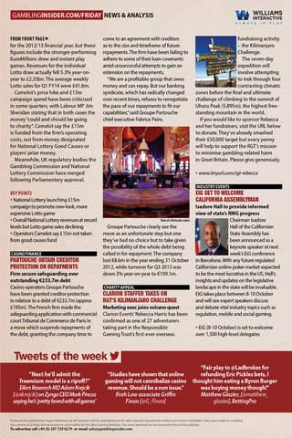The Gambling Insider Friday – Weekly Gaming News Briefing screen