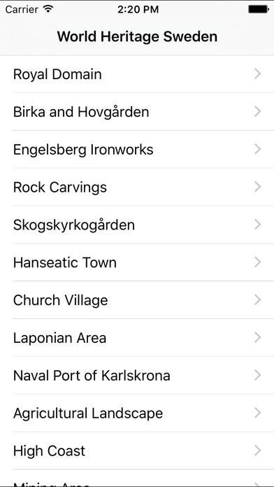 World Heritage Sweden Screenshots