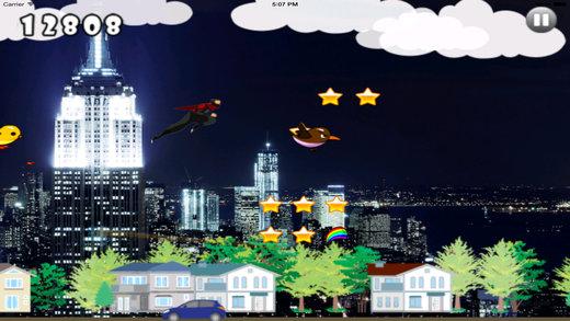 A Dark Samurai War - Jump Risk And Run Game Screenshot