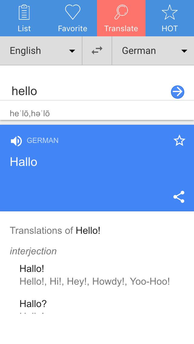 englisch deutsch translator