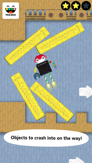 Toca Robot Lab Apps for iPhone/iPad screenshot