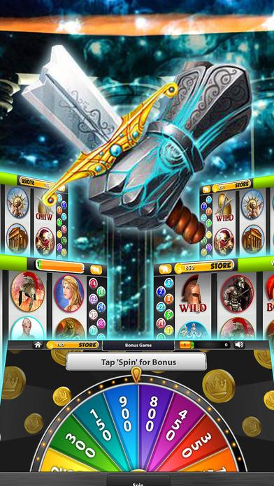 Screenshot 3 Titan's VIP 2 Slot Machines:  Play Olympus 7's Mythology Casino of Zeus Jackpot Treasure