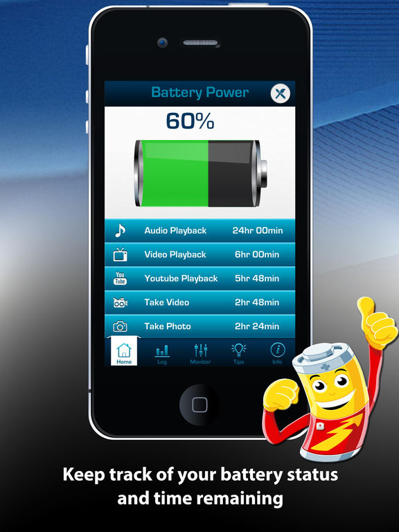 Battery Power Doctor Lite Free Battery Booster Optimization Tips & Tricks screenshot