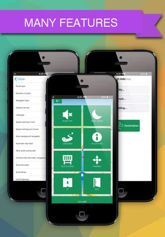 Pakistan Offline GPS : Car Navigation screen