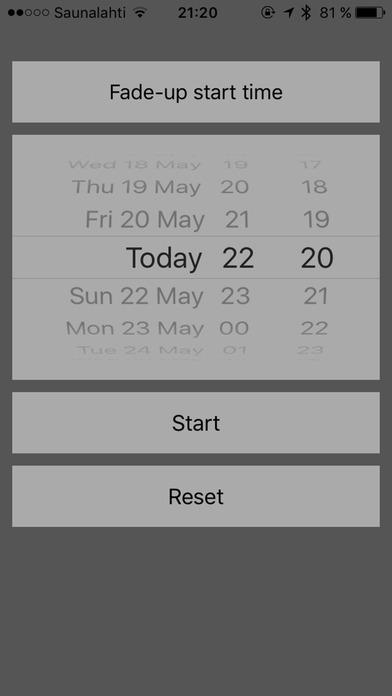 SunWake iPhone Screenshot 1