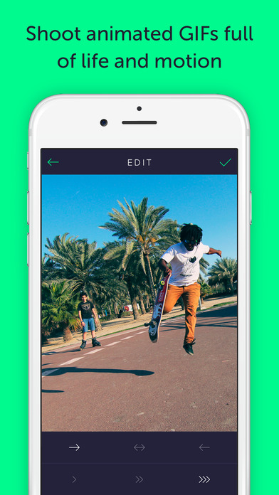 Gifstory - GIF Camera, Editor and Converter of Photo, Live Photo, and Video to GIF Screenshots