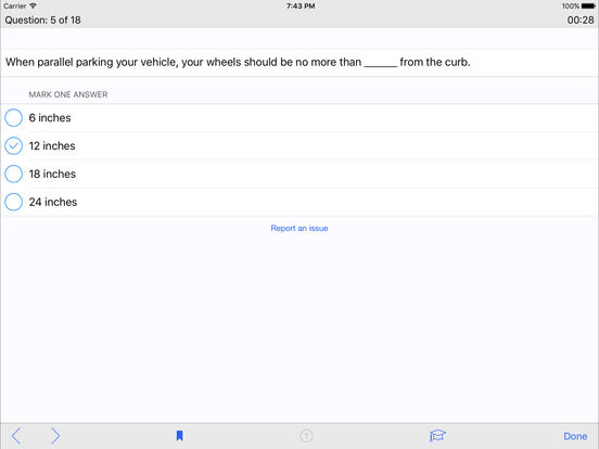 DMV Test Prep - Vermont iPad Screenshot 3