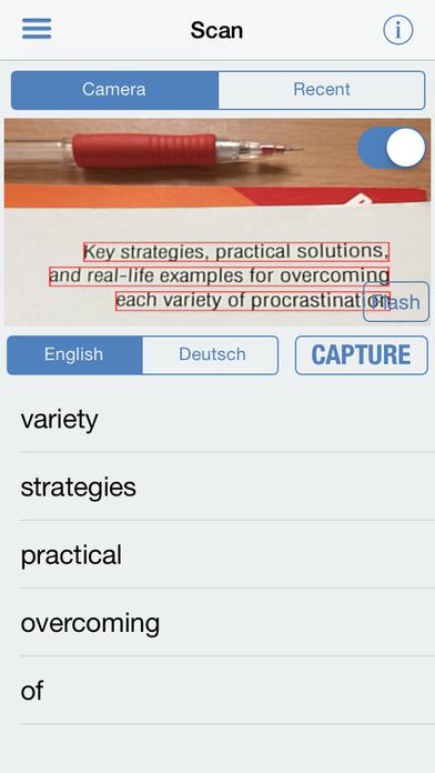 German Dictionary Pro Free iPhone Screenshot 2