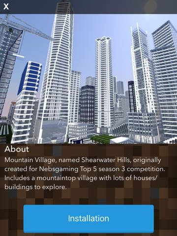 Screenshots of City Maps for Minecraft PE - The Best Maps for Minecraft Pocket Edition (MCPE) for iPad