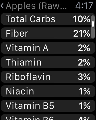 Screenshot #13 for Nutrients - Nutrition facts for foods and recipes