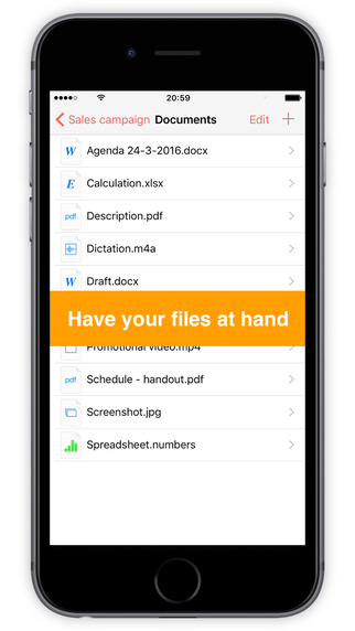 FileCalendar - Manage calendar events & attach documents Screenshots