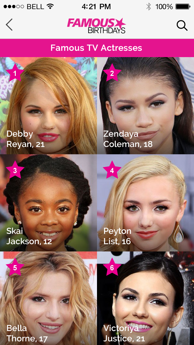 June 9 - Famous Birthdays - On This Day