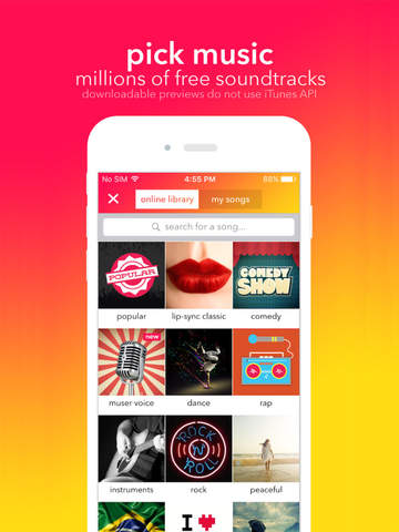 musical.ly for iPad - your video community Screenshots