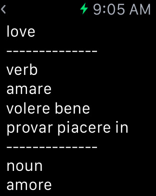 Italian Dictionary iPhone Screenshot 9