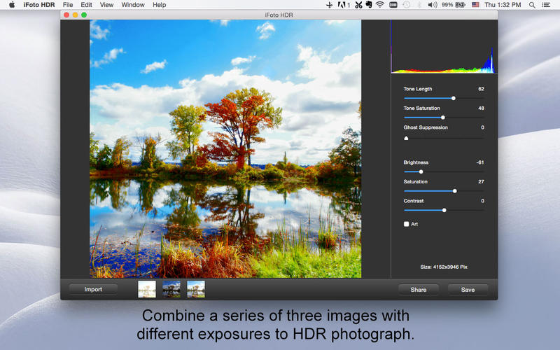 iFoto HDR - Make HDR Photo Effects Screenshots