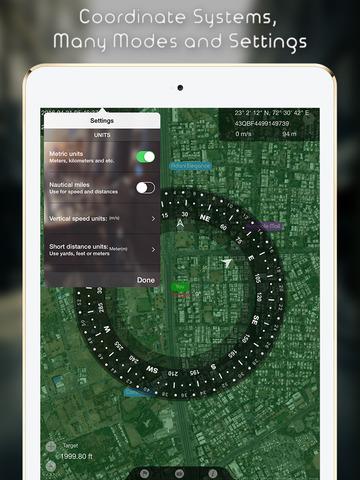 Compass GPS Navigator Geocaching Скриншоты10