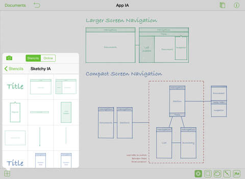 OmniGraffle 2 Screenshots