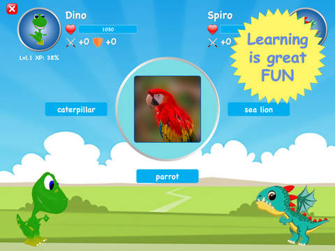 English for Kids with Drago Langu Premium Edition - children learn English words Screenshots