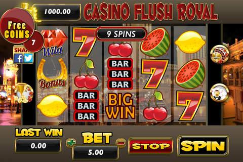 A Aaba Casino Flush Royal Slots, Roulette and Blackjack 21 screenshot 1