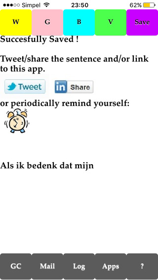 iGCCheckIn iPhone Screenshot 4