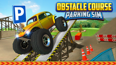 Obstacle Course Extreme Car Parking Simulator screenshot 1