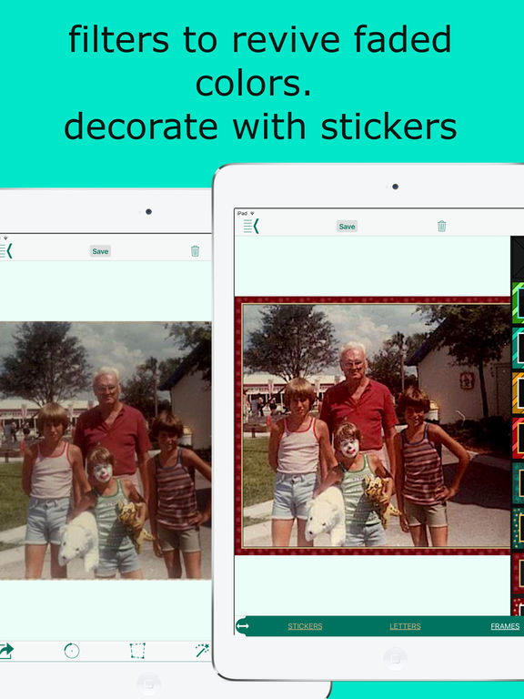 Photo4 Album Scanner for iPhone and iPad Screenshots