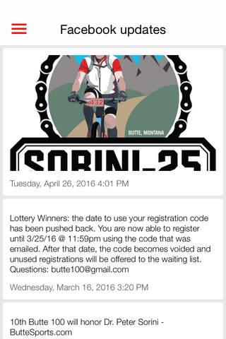 Butte 100 Mountain Bike Race screenshot 3