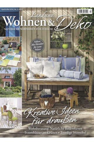 LandIDEE Wohnen & Deko – epaper ist das kreative Magazin für natürliche Wohnideen für Zuhause screen