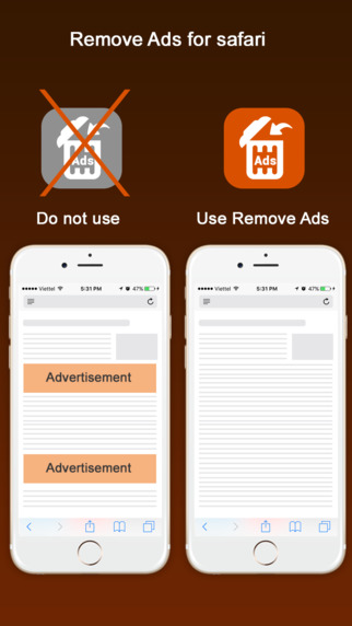 Remove Ads - Ad block for safari browser Screenshots