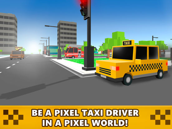 Pixel Loop Taxi Race 3D Full Screenshots