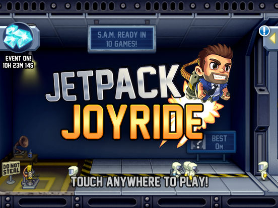 Screenshot #5 for Jetpack Joyride