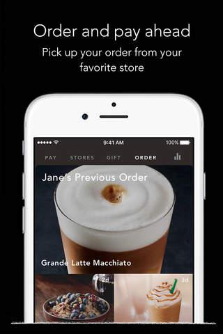 Starbucks screenshot 4