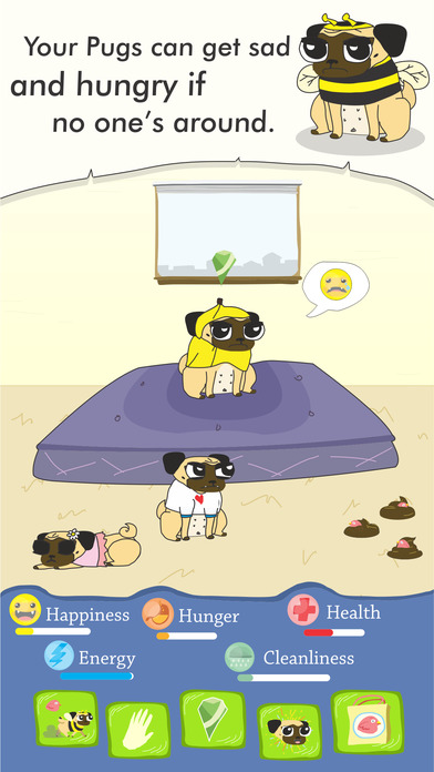 Growing Pug screenshot 2