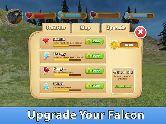 Скачать игру Wild Falcon Survival Simulator 3D Full