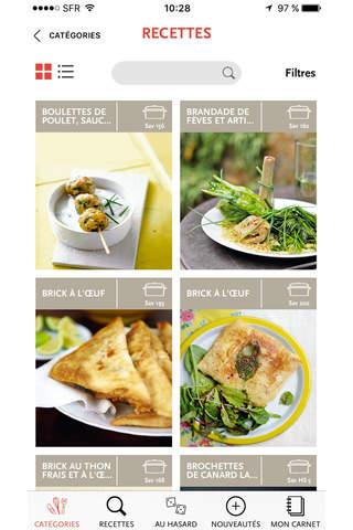 Saveurs, plus de 3000 recettes inratables, gourmandes et raffinées screenshot 2
