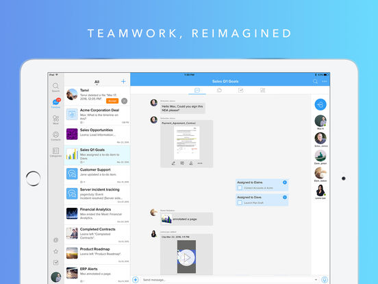 Moxtra - Team Collaboration and Communication screenshot