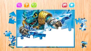 Мультфильм Головоломка Для Дитя - Головоломка Загадки коробка для Skylanders Издание - Kid Малыш и дошкольного возраста Образование Игры Скриншоты3