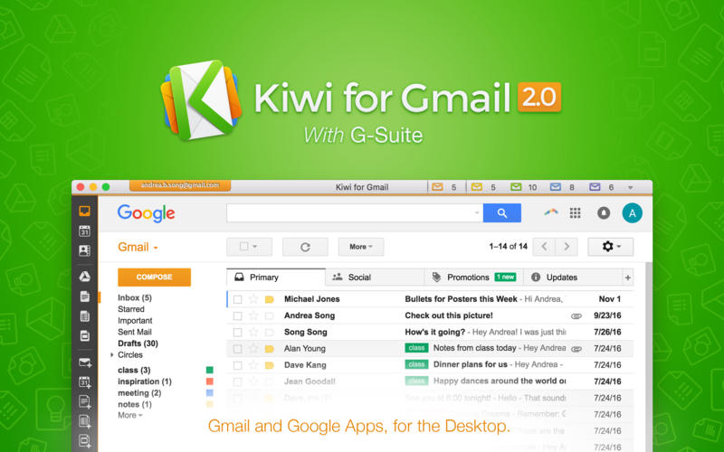 Kiwi for Gmail for Mac