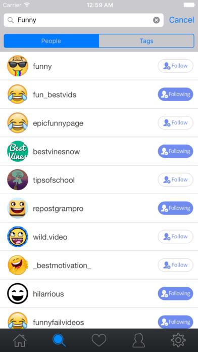 Screenshot for QuickRepost for Instagram - Repost Upload Stories in Lebanon App Store