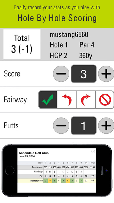SkyCaddie Mobile by SkyGolf: Golf GPS/GameTracker app image