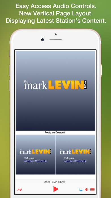 Levin Mobile App | The Mark Levin Show