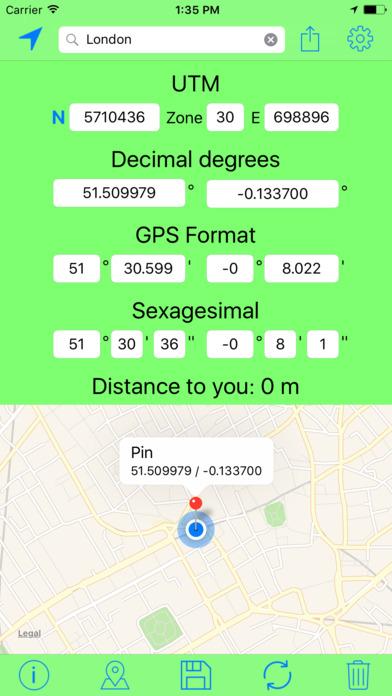 UTM Coordinates Tool screenshot 4