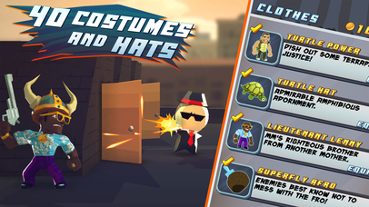 Screenshots of Major Mayhem for iPhone