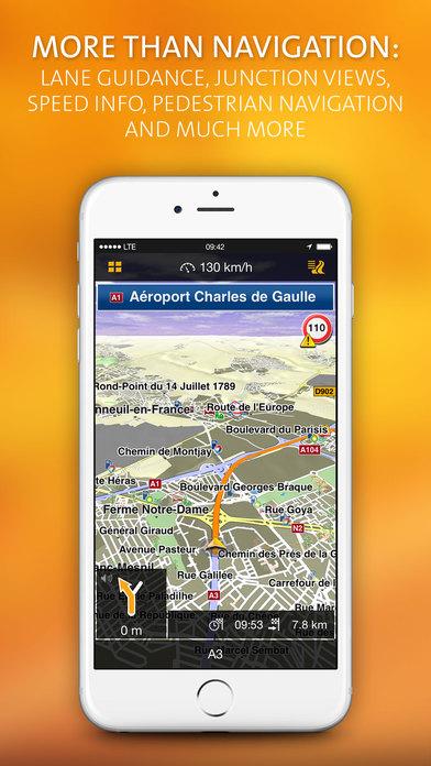 NAVIGON MobileNavigator Turkey iPhone Screenshot 1